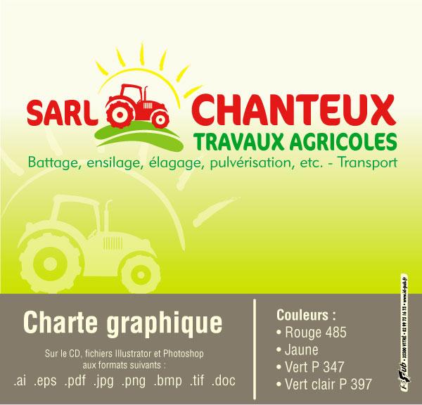 Creation De Logo Charte Graphique Entreprise Travaux Agricoles Departement 53